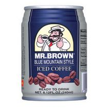 Mr. Brown Canned Blue Mountain Iced Coffee