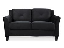 Lifestyle Solutions Taryn Black UPSable Loveseat