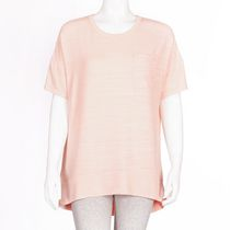 George Women's Drop Shoulder Hacci Top Coral M/M