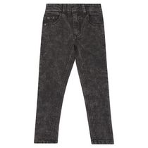 George British Design Boys Black Acid Wash Jean 12