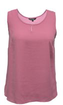 George Women's Solid Keyhole Camisole Rose M