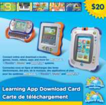 Learning App Download Card Bilingual