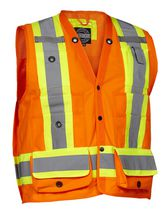 Forcefield Surveyor's Safety Vest L