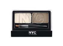 Trousse sourcils application brosse de NYC New York Color Brunette
