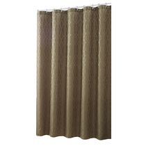 hometrends Tonal Geo Fabric Shower Curtain