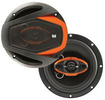 "Dual DLS654G 6 ½"" 4-Way Speakers"