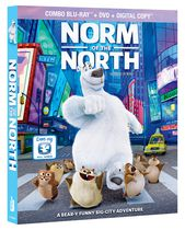 Blu-ray + DVD film Norm of the North