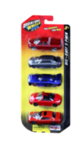 "Maisto Adventure Wheels 3"" Die-cast Vehicle 5 Pack"