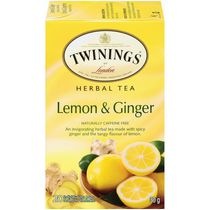 Twinings Lemon Ginger Herbal Tea