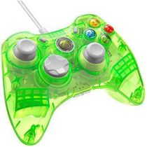 PDP Rock Candy Controller for Xbox 360 - Lime Aqua