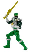Power Rangers Dino Super Charge - Dino Drive Green Ranger Action Hero Figure