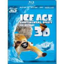 Ice Age 4: Continental Drift 3D (Blu-ray 3D + Blu-ray 2D + DVD) (Bilingual)