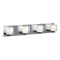 Pandora 4-Light Polished Chrome Bath Vanity