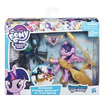 Figurines Princess Twilight Sparkle co. un changelin Guardians of Harmony de My Little Pony