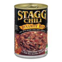 Stagg Chili Dynamite Hot Canned Chili with Beans