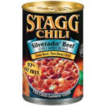 Stagg Chili Silverado Canned Beef Chili with Beans