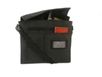 Bond Street Black Computer Sleeve with Removable Shoulder Strap (463241BLK)