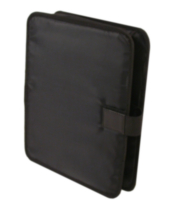 Bond Street Black Sleek Black Padded Laptop Case Sleeve (463242BLK)