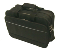 Bond Street Black Ballistic Long Wear Computer Briefcase (466001BLK)