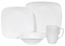 Corelle® Square™ 16-Piece Dinnerware Set