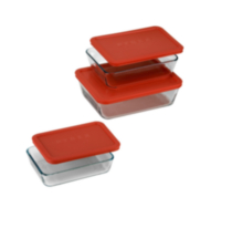 Pyrex® 6-piece Rectangular Storage Value Pack