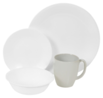 Corelle® Livingware™ 16 Piece Winter Frost Dinnerware Set