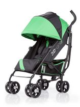 Poussette pratique 3D-one en vert brillant de Summer Infant