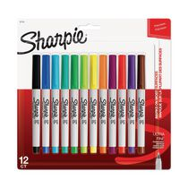 Sharpie Ultra Fine Point Permanent Markers, 12-Pack