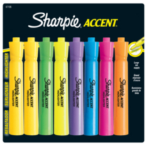 Sharpie Tank Highlighters, 8-Pack