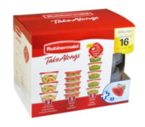 Assortiment TakeAlongs de 16 pièces