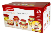 Rubbermaid  Easy Find Lids 24 Piece Set