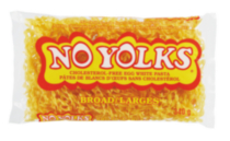 No Yolks Broad Cholesterol-Free Egg White Pasta