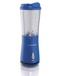 Hamilton Beach® Single-Serve Blender with Travel Lid French Blue