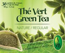 S Sens Green Tea Regular 36 un