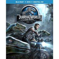 Jurassic World (Blu-ray + DVD + Digital HD) (Bilingual)