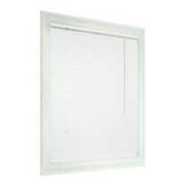 "PVC 1"" Light Filtering Blinds -White 44W x 48H to 72W x 48H 64 x 48"