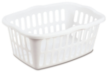 Sterilite Laundry Basket, 53 L - White