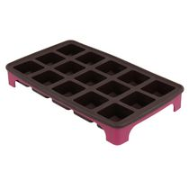 Metaltex Dolceforno Chocolate Mould Cube Shaped Tray
