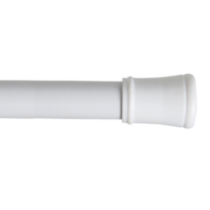 "Easy Up Adjustable 63"" tension rod - White"