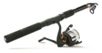 Ready 2 Fish Telescopic Spin Combo with Kit