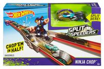 Hot Wheels Split Speeders Ninja Chop Track Set