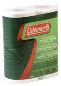 Coleman® Biodegradable Toilet Paper - 8 Pack