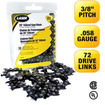 LASER Saw Chain 3/8-058 72 Drive Links