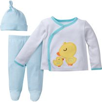 Gerber Chidrenswear 3-Piece Take-Me-Home Set 0-3 months