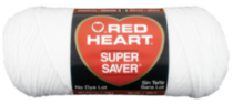 Red Heart Supersaver White