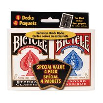 Bicycle Playing Cards 4-Pack