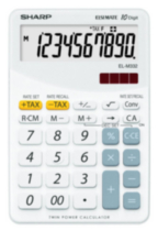 Calculatrice SHARP ELM332BWH