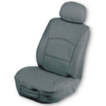 Leather Seat Cover - Gray