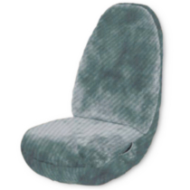 Sheepsk Grey 1 Seat Cover