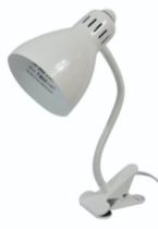 MS-WHITE CLIP LAMP White